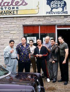 The Sopranos - Season 2 - Vincent Pastore, James Gandolfini, Michael Imperioli, Tony Sirico, Jerry Adler, Steven Van Zandt, Federico Castelluccio