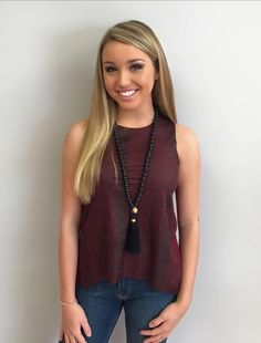 Pretty In Python in Burgundy $75