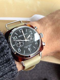 Briston - Clubmaster Chronograph Black