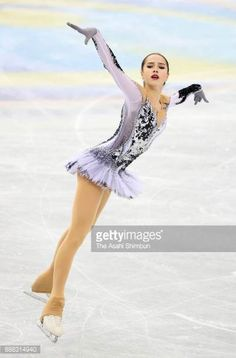 Alina Zagitova of Russia competes in the Ladies Singles Short Program during day two of the ISU Junior Senior Grand Prix of Figure Skating Final at...