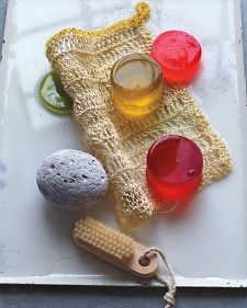 Crocheted Loofah | Step-by-Step | DIY Craft How To's and Instructions| Martha Stewart