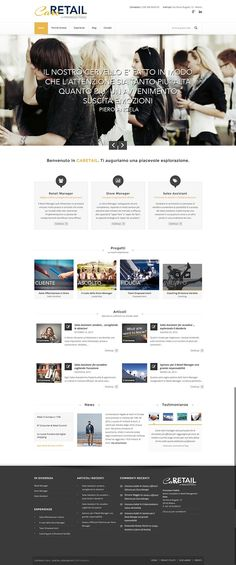 New website Caretail.it on Behance  #webdesign #webdevelopment #website caretail.it