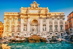Trevi Fountain, Roma Italia was probably my favourite thing I saw in Rome. I would love to go back eventually Places In Europe, Oh The Places You'll Go, Places To Travel, Places To Visit, Travel Destinations, Dream Vacations, Vacation Spots, Vacation Ideas, London Eye