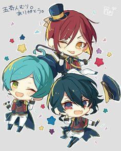 Natsume, Kanata, & Rei | Ensemble Stars!