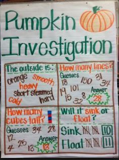 Adventures in Kinder and Beyond: Pumpkin Time!