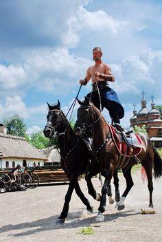"#Ukrainian #style Vía Good News on #Ukraine Козаки ""Мамаєвої Слободи"""