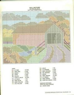 Covered bridges calendar