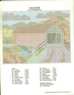 Covered bridges calendar