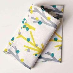 Scandinavian Tree Tea Towel