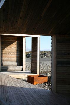 'Reinoksevann' pavillion by PUSHAK architects, Finnmark, Norway