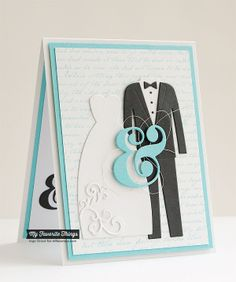 Always and Forever by **Inge** - Cards and Paper Crafts at Splitcoaststampers Unique Cards, Creative Cards, Cool Cards, Wedding Scrapbook, Scrapbook Cards, Scrapbooking, Wedding Shower Cards, Card Wedding, Wedding Dress