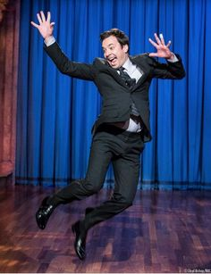 Late Night With Jimmy Fallon... Because what is better than this, right here? Nothing.