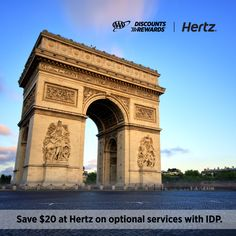 Traveling abroad? Already have your International Driving Permit? Use #AAADiscounts to save $20 on optional services for qualifying rentals with Hertz. Get details and your savings coupon now.