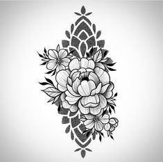 Dot Tattoos, Flower Tattoos, Body Art Tattoos, Girl Tattoos, Sleeve Tattoos, Tattoo Femeninos, Piercing Tattoo, Back Tattoo, Tattoo Drawings