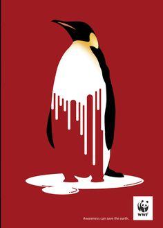 Global warming  WWF Poster