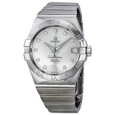 Omega Constellation Silver Dial Stainless Steel Mens Watch 12310382152001 *** See this great product.