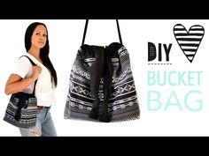Bucket Bag nähen / DIY MODE Nähanleitung - YouTube