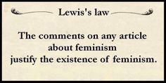 Dead on.  Substitute racism for feminism, and it's also dead on.