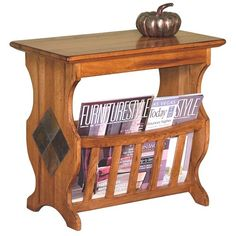 practical magazine rack table