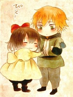Hetalia_Little!Belgium and Netherlands