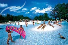 Camping Norcenni Girasole Village in Figline Valdarno. Book with Vacansoleil. Stay in Tuscany in a mobile homes or tent. Camping Europe, Visit Florence, Camping Holiday, Campsite, Tuscany, Playground, Bungalow, Places Ive Been, Golf Courses
