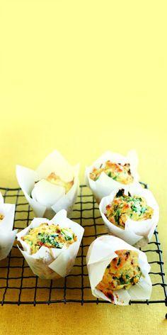 Spinazie-zoeteaardappelmuffins | Gezond eten magazine