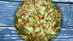 Rocco DiSpirito's Spinach Pizza Crust-Dr Oz Dash Diet Recipes, No Carb Recipes, Veggie Recipes, Baby Food Recipes, Vegetarian Recipes, Cooking Recipes, Healthy Recipes, Pizza Recipes, Food Baby