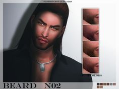 The Sims Resource: FRS Beard N02 by FashionRoyaltySims • Sims 4 Downloads