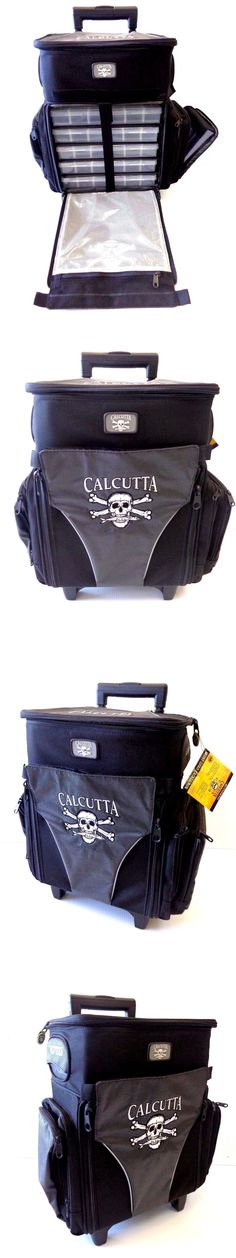 Tackle Boxes and Bags 22696: Calcutta Rolling Tackle Bag Box Ct3010wc Sport Fishing Travel Bag W 5 Trays Med -> BUY IT NOW ONLY: $169.99 on eBay!