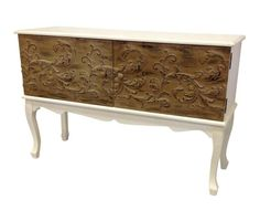 French Provincial Vintage 2 Tone Sideboard Entertainment TV Unit in Brunswick West, VIC | eBay