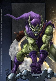 Green Goblin colors by *aladecuervo on deviantART