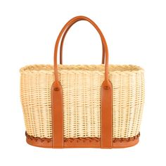 LIMITED EDITION * HERMES GARDEN PARTY OCIER TOTE BARENIA LEATHER