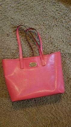6334521e97 Details about Michael Kors handbag. Watermelon tote. Medium sized