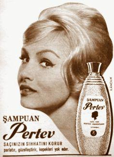 OĞUZ TOPOĞLU : şampuan pertev 1964 nostaljik eski reklamlar