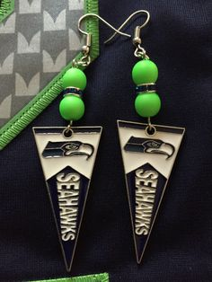A personal favorite from my Etsy shop https://www.etsy.com/listing/472012249/seattle-seahawks-pennantbanner-dangle