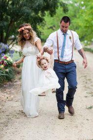 Rustic Backyard DIY Wedding from Danni Knight Photography | Style Me Pretty