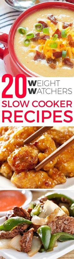20 Weight Watcher Crock Pot Recipes