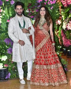 Armaan Jain tied the knot to his long time girlfriend Anissa Malhotra. Bollywood Couples, Bollywood Wedding, Bollywood Celebrities, Bollywood Stars, Wedding Of The Year, Wedding Pics, Indian Bridal Outfits, Bridal Dresses, Deepika Ranveer