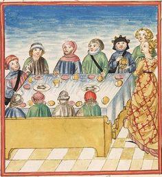 Pontus und Sidonia — Stuttgart (?) - Werkstatt Ludwig Henfflin,  um 1475  Cod. Pal. germ. 142  Folio 92r