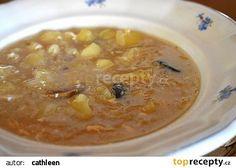 Kyselica (polévka z Vlčnova) recept - TopRecepty.cz