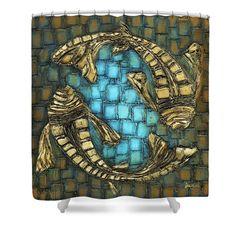 Deepak little fish shower curtain curtains shower curtains and fish