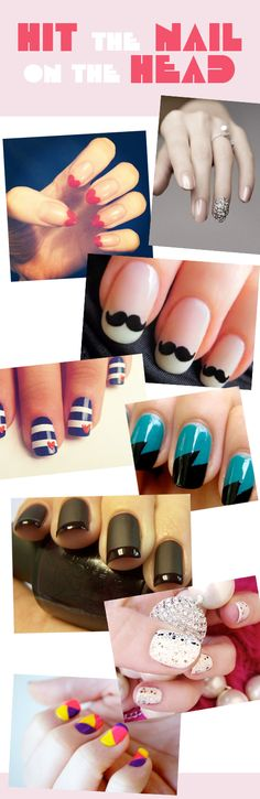 i want the mustache nails :)
