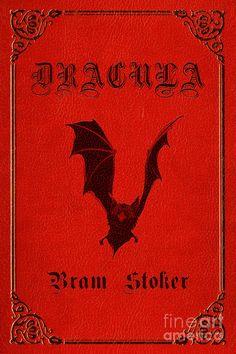 Dracula Book Cover Poster Art 1 Drawing