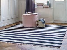 Stripes are in fashion - also on the floor. You can now order the pure new wool carpet Stripes II.  Streifen sind angesagt - auch auf dem Boden. Den Schurwollteppich Stripes II können Sie jetzt bestellen. The Pure, Kids Rugs, Contemporary, Store, Home Decor, Stripes, Floor, Room Decor, Business