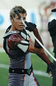Oh hello there  why can't we have hot boys like this in our colorguard