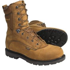 CARHARTT > 8inch Work Boots Waterproof, Leather (For Men)