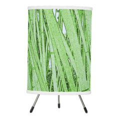 #home #lamps #decor - #Bamboo Patterned Lamp Shade (Green)