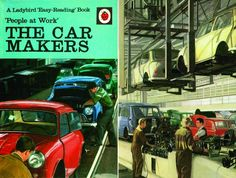 Cover and illustration from The Car Makers
