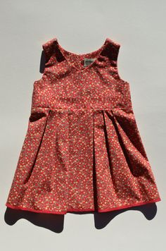 girls floral dress, via Etsy.