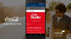 When a consumer buys a Coca-Cola product, they receive a unique code to redeem digital prizes from Coke Studio Africa.